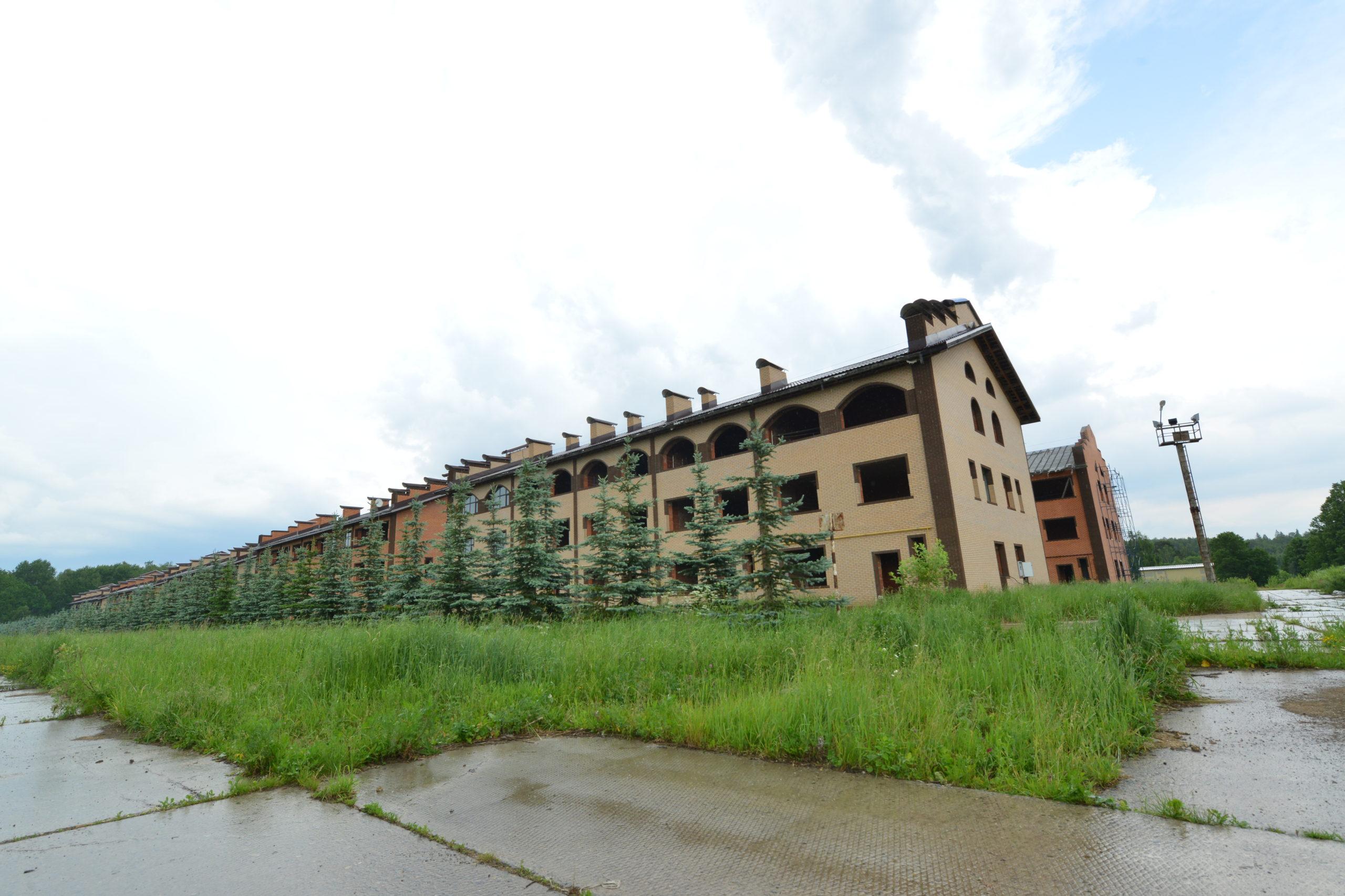 Фотоотчет со строительной площадки июнь 2020 г.